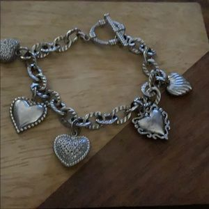 Brighton Hearts Toggle Bracelet
